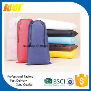 Cheap Single Non Woven Drawstring Shoe Bag pictures & photos