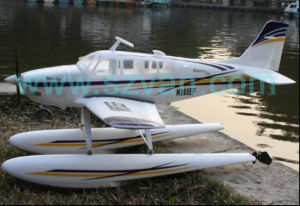 RC Airplane Upgraded A36 Bonanza Beachcraft Electric Retracts Gears