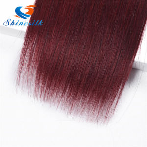 T1b Burgundy 99j Red Mink Brazilian Virgin Hair pictures & photos