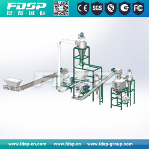 Wood Pellet Processing Line for Biofuel Pellet Making pictures & photos
