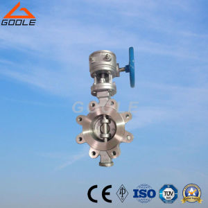 150lb/300lb API Wafer Lug Type Worm Gear Box Metal Sealing Butterfly Valve (GALD373W) pictures & photos