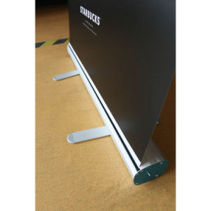 Full Aluminum Advertising Roll up Banner Stands Design for Trade Show pictures & photos