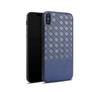 Retro Leather Braided Veins Design Protection Mobile Phone Case for iPhone8 pictures & photos