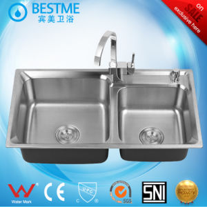 New Arrial Stainless Steel Kitchen Sink (BS-325-304L) pictures & photos