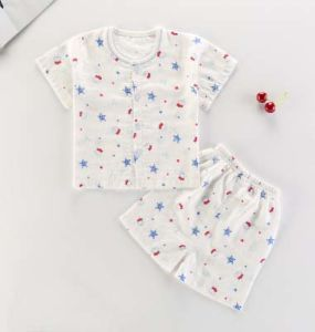 New Fashion Kids Pajamas Short Sleeve Suit Children Underwear Baby Clothing pictures & photos
