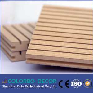 Exceptional Quality Internal Sound Insulation Wooden Acoustic Panel pictures & photos
