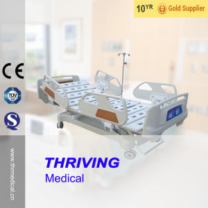 Thr-Eb5201 Luxurious Five Function Electric ICU Bed pictures & photos