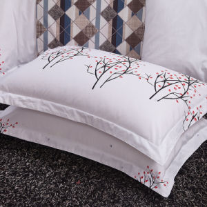 White Deluxe Printing Hospital Bed Sheet pictures & photos