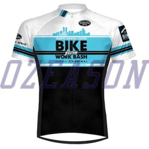 Camouflage Navy Blue Men′s Comfortable Dye Sublimation Cycling Wear pictures & photos