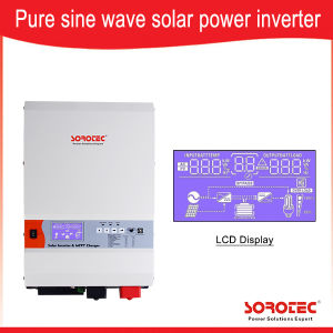 6kw off Grid Low Frequency Inverter Solar Power Inverter with MPPT Solar Charge Controller pictures & photos