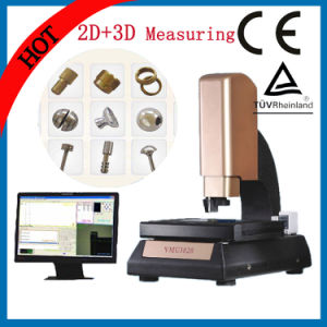Newest 2D+3D Auto High Resolution Vision Measuring System with Probe pictures & photos