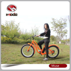 Fat Tire Hot Sale Beach Cruiser Electric Bike for Lady pictures & photos