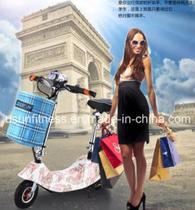 12 Inch Wheel Brushless Gear Motor 36V 300W Lithium Battery Foldable 2 Wheel Electric pictures & photos