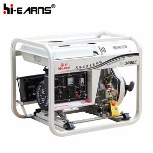 Air-Cooled Open Frame Type Diesel Generator Set (DG3000E) pictures & photos