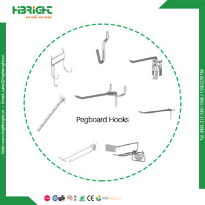 Flip Scan Pegboard Display Hook with Label pictures & photos