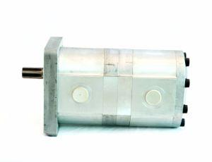 20cc+20cc Aluminum Hydraulic Gear Pump Double Pump pictures & photos
