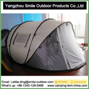 Two Story Popup Custom Folding Camping Solar Tent pictures & photos