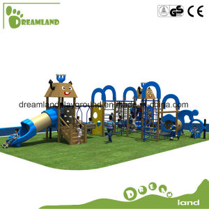 New Design Outdoor Kids Play Wooden Playground pictures & photos