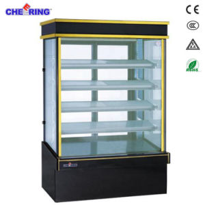 Upright Six Sides Display Cake Refrigerator Showcase pictures & photos
