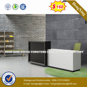Check-in Office Furniture 2.4m Wooden Front Table Reception Desk (HX-8N2512) pictures & photos