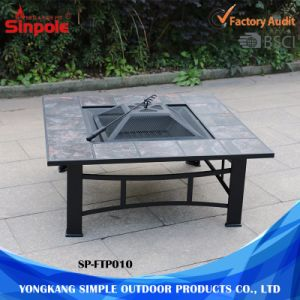 3 in 1 Powder Coated Multi-Function Outdoor Garden Fire Pit Table pictures & photos