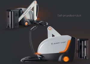 Self-Propelled Robot Winding Machine