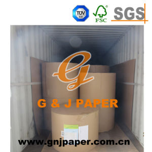 Wood Pulp Reel Size 70GSM Offset Typing Paper for Sale pictures & photos