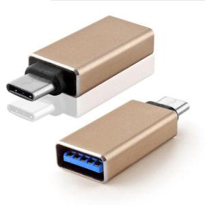 USB Type C Male to USB 3.1 Female OTG Adapter Type-C Converter for Xiaomi Mi4c MacBook Nexus 5X 6p USB-C Adapter pictures & photos