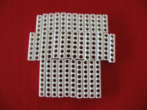 Customized High Frequency Steatite Ceramic Porous Part pictures & photos