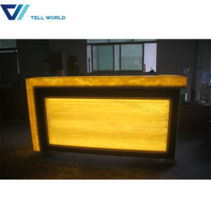 Commercial Bar Counter with LED Light for Sale pictures & photos