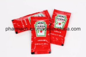 Pm-320 Vertical Granule Power Liquid Form Fill Seal Packaging Machine pictures & photos