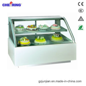 Ce Approved Cake Display Showcase Refrigerator pictures & photos