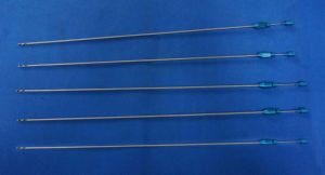 Two Flat Holes Luer-Lock Liposuction Cannula pictures & photos