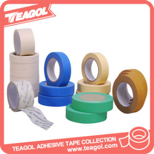 High Temperature Crepe Paper Adhesive Masking Tape, Tape pictures & photos