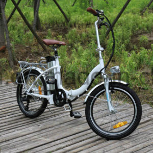 250W Lithium Battery Folding Ebike pictures & photos