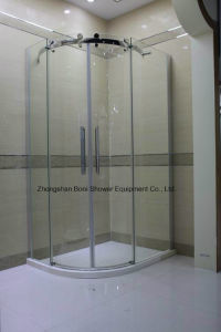 Shower Enclosure 8mm Big Roller Quadrant Shower Door pictures & photos