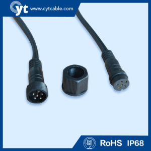 IP68 6 Pin Waterproof Cable with Male and Female Connector pictures & photos