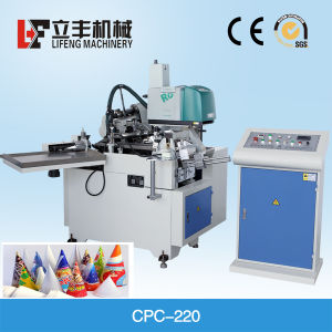 Automatic Paper Cone Sleeve Forming Machine for Ice Cream pictures & photos