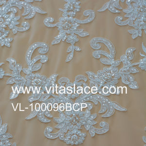 16cm Width Chinese Factory Lace Appliques for Wedding Gown Vf-007bc pictures & photos