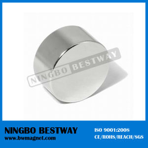 Strong Sintered Flat Disc Magnet with ISO Approved pictures & photos