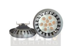12VAC/DC 11W Osram AR111 Qr111 Es111 LED with Silver Finish