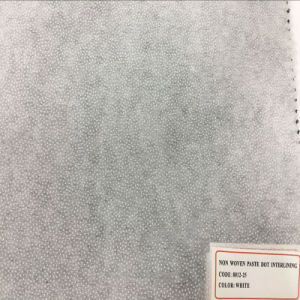 Polyester Non Woven Double DOT Fusible Interlining for Shirt Uniform Suit pictures & photos