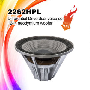2262HPL Line Array Speaker Double Magnet Woofer pictures & photos