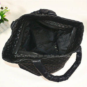 2016 New Arrival Winter Eiderdown Tote Bags, Down Proof Bag pictures & photos
