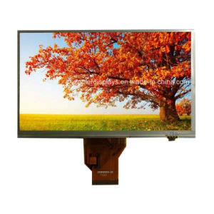 "7"" WVGA TFT LCD Display with Resistive Touch Panel: ATM0700d8b-T pictures & photos"