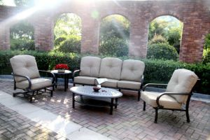 Outdoor Sofa Set Cast Aluminum Furniture pictures & photos