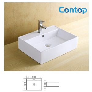 Ceramic Counter Top Washing Basin 8221 pictures & photos