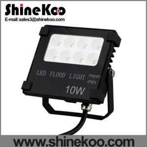 Die-Casting Aluminum IP65 10W LED Flood Lamps pictures & photos