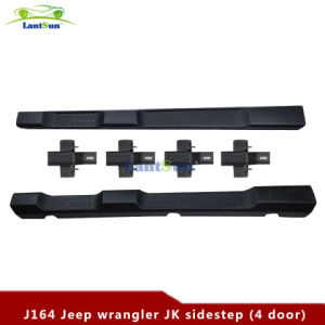 Black ABS Plastic Side Step for Jeep Wrangler Jk pictures & photos