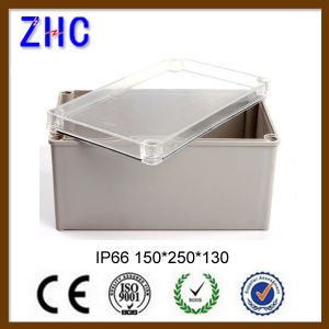 80*250*85 ABS Enclosure Clear Cover Plastic Waterproof Switch Junction Box for Wholesale pictures & photos